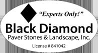 Black Diamond Paver Stones & Landscape